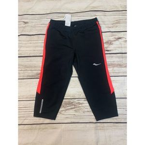 Saucony Black Run Dry Pants Size Small